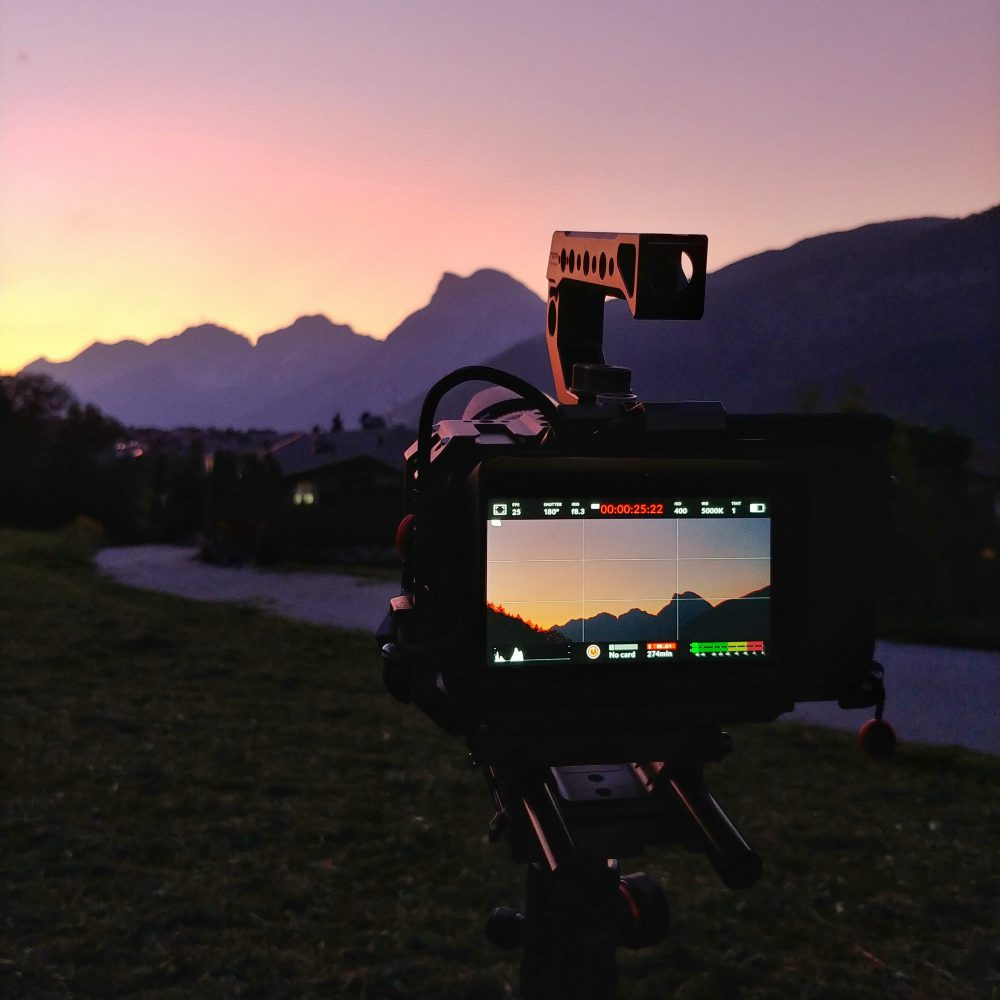 Roland Klocker - Blackmagic 6k Camera at Sunsets