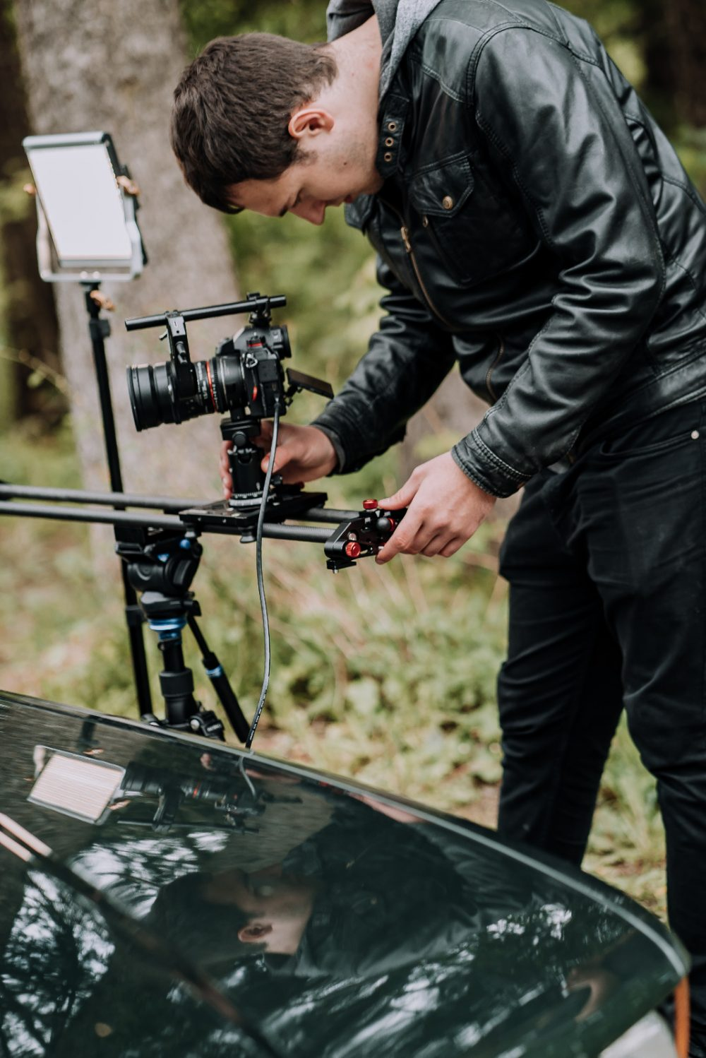 Roland Klocker - Behind the Scenes on Set with Camera and Slider