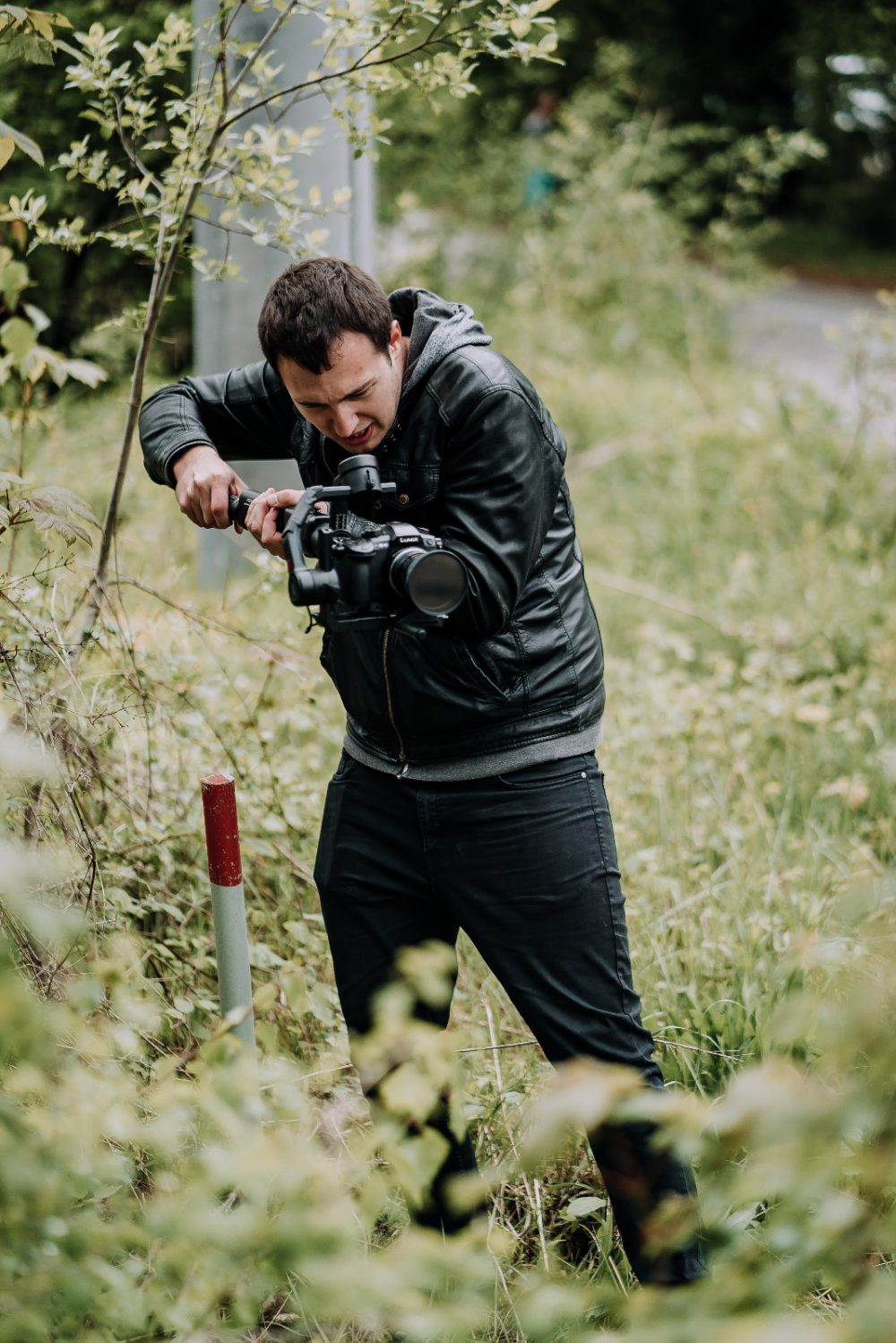 Roland Klocker - Behind the Scenes on Set with Camera and Gimbal